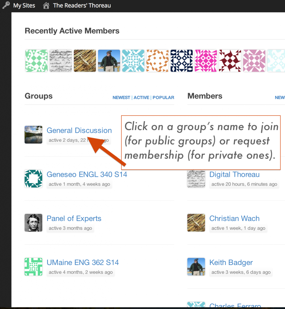 Joining groups